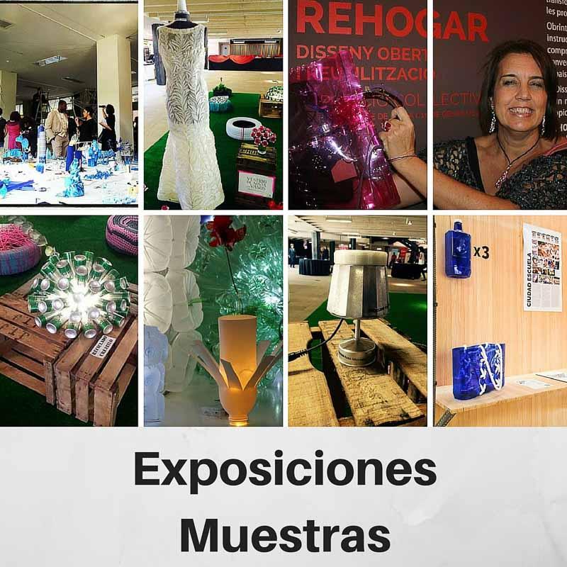 EXPOSICIONES Y MUESTRAS DE RECICLADO CREATIVO