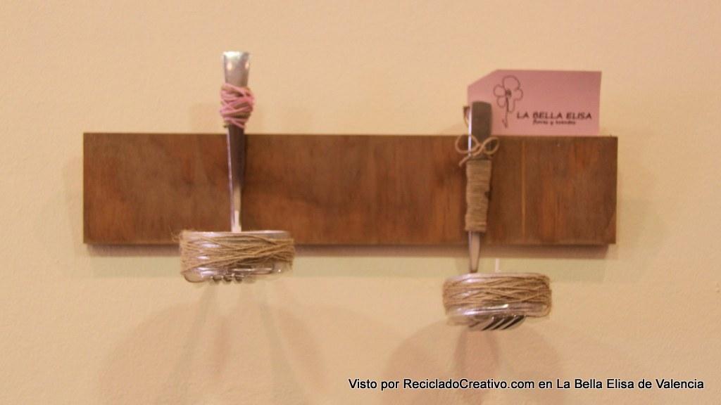 con cubiertos en la bella elisa visto por reciclado creativo