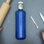 Cómo realizar una caja de regalo, estuche, bombonera o dulcero con una botella de plástico. Rosa Montesa. Reciclado Creativo.