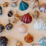 Caracolas de mar convertidas en colgantes para collares - Seashell as a pendant necklace