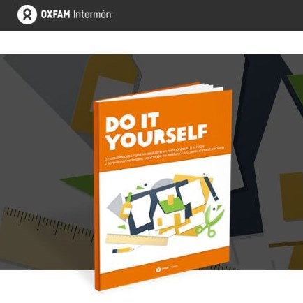 intermon oxfam libro DIY DO IT YOURSELF