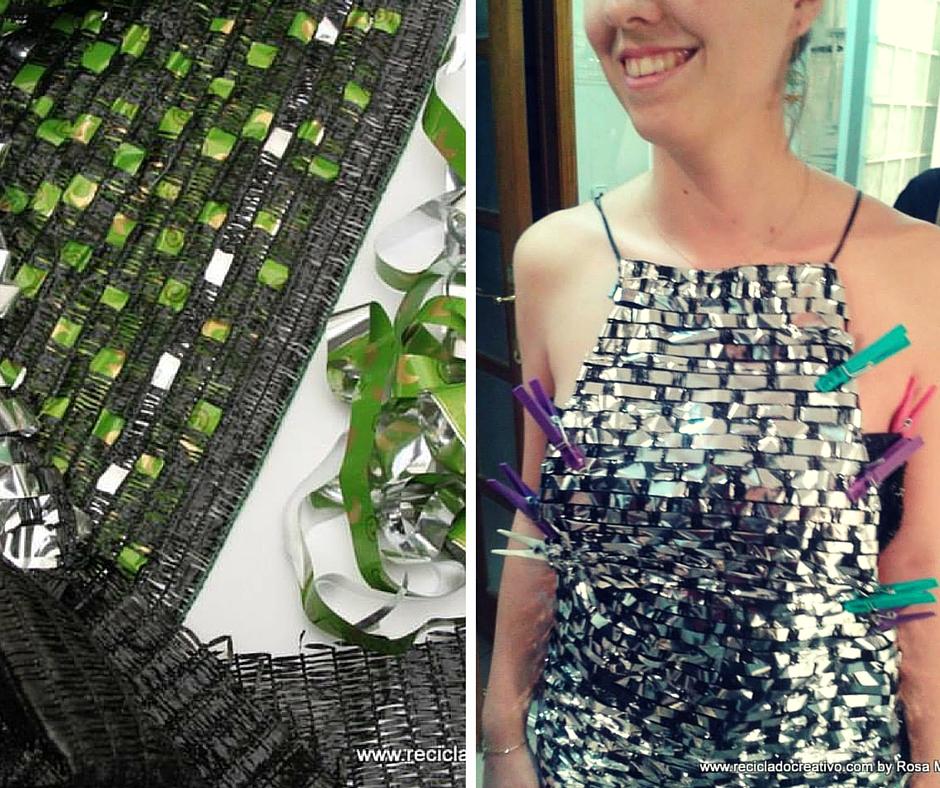Vestido Naomi Watts oscar con reciclado creativo (5)