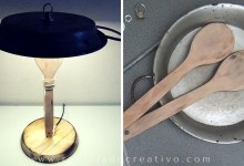DIY La Paella Lámpara -  Cómo hacer una lámpara con una paella