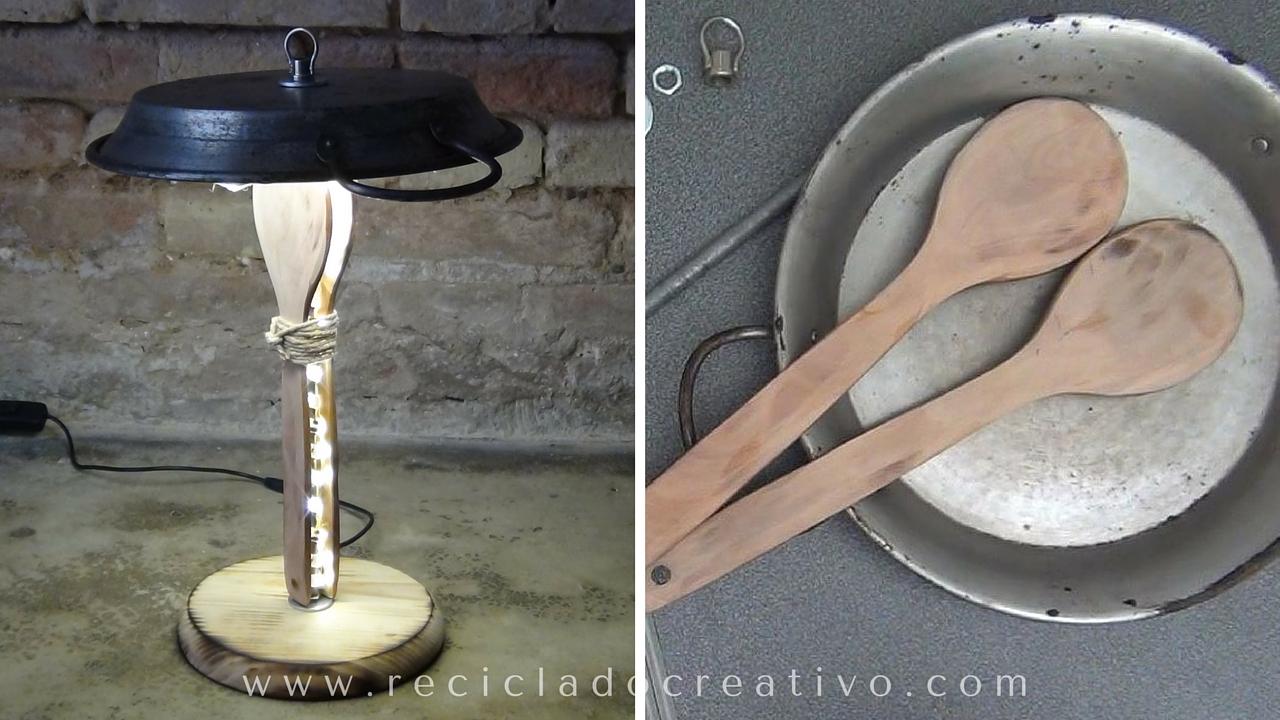 Lámpara Paella DIY Paella Lamp