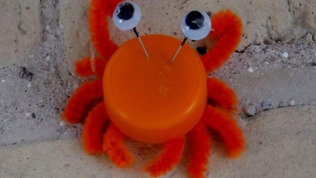 Manualidad de reciclaje de reciclaje stunning decorar - Como hacer color naranja ...