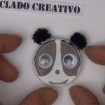 Oso Panda Manualidad para niños y reciclaje