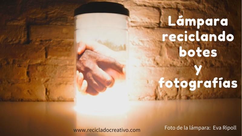 Marco de fotos iluminado