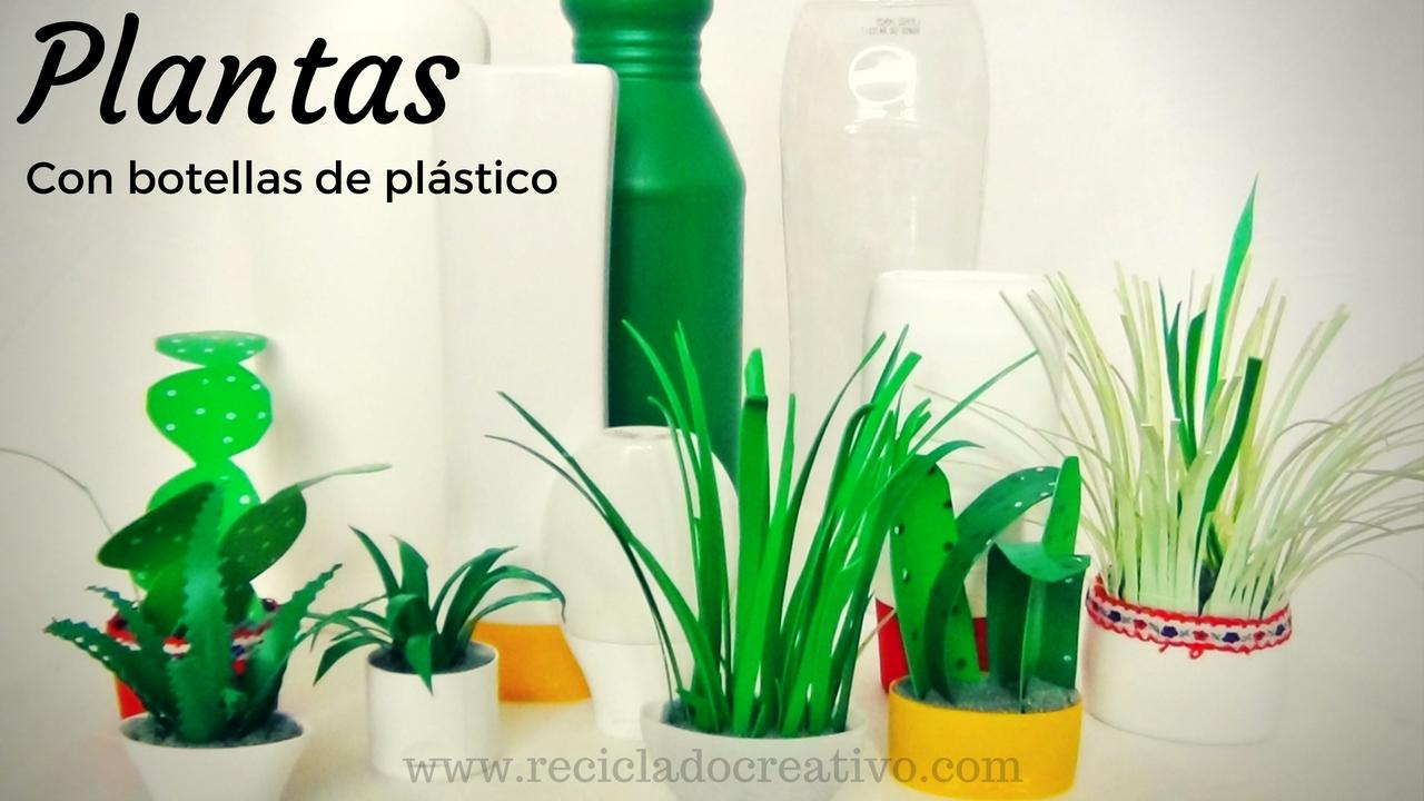 Diy manualidades miniaturas plantas con botellas de for Adornos para plantas con llantas