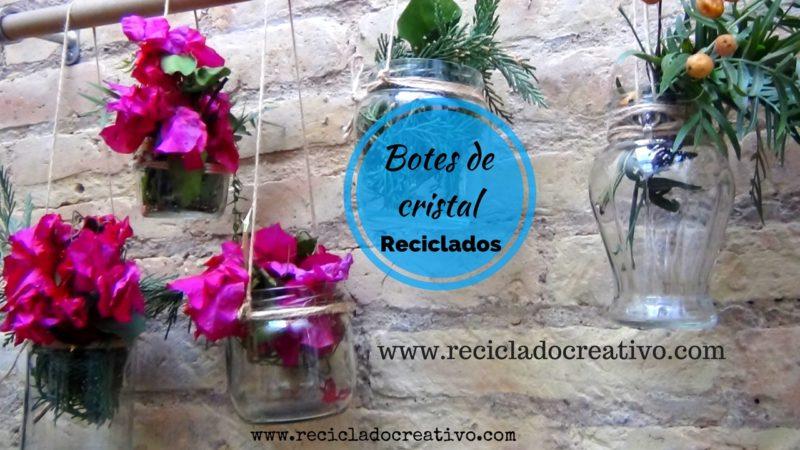 Botes frascos reutilizados