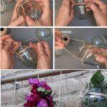 Botes de cristal reciclados