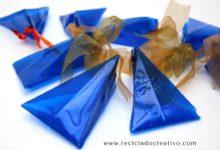 Bomboneras - cajas de regalo - con botellas de plástico