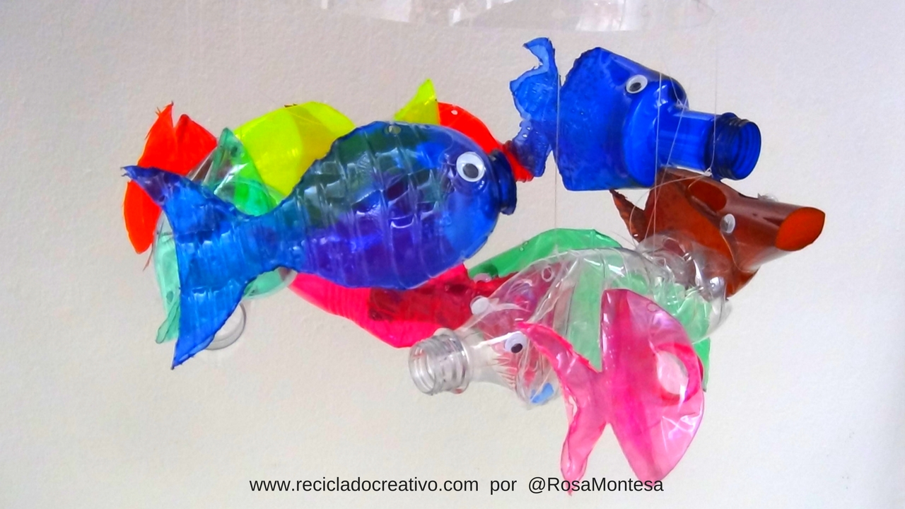 M vil de peces con botellas de pl stico reciclado for Estanques plasticos para peces