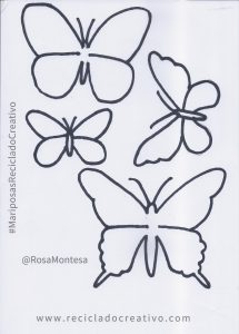 Mariposas_Plantillas_Moldes_RecicladoCreativo