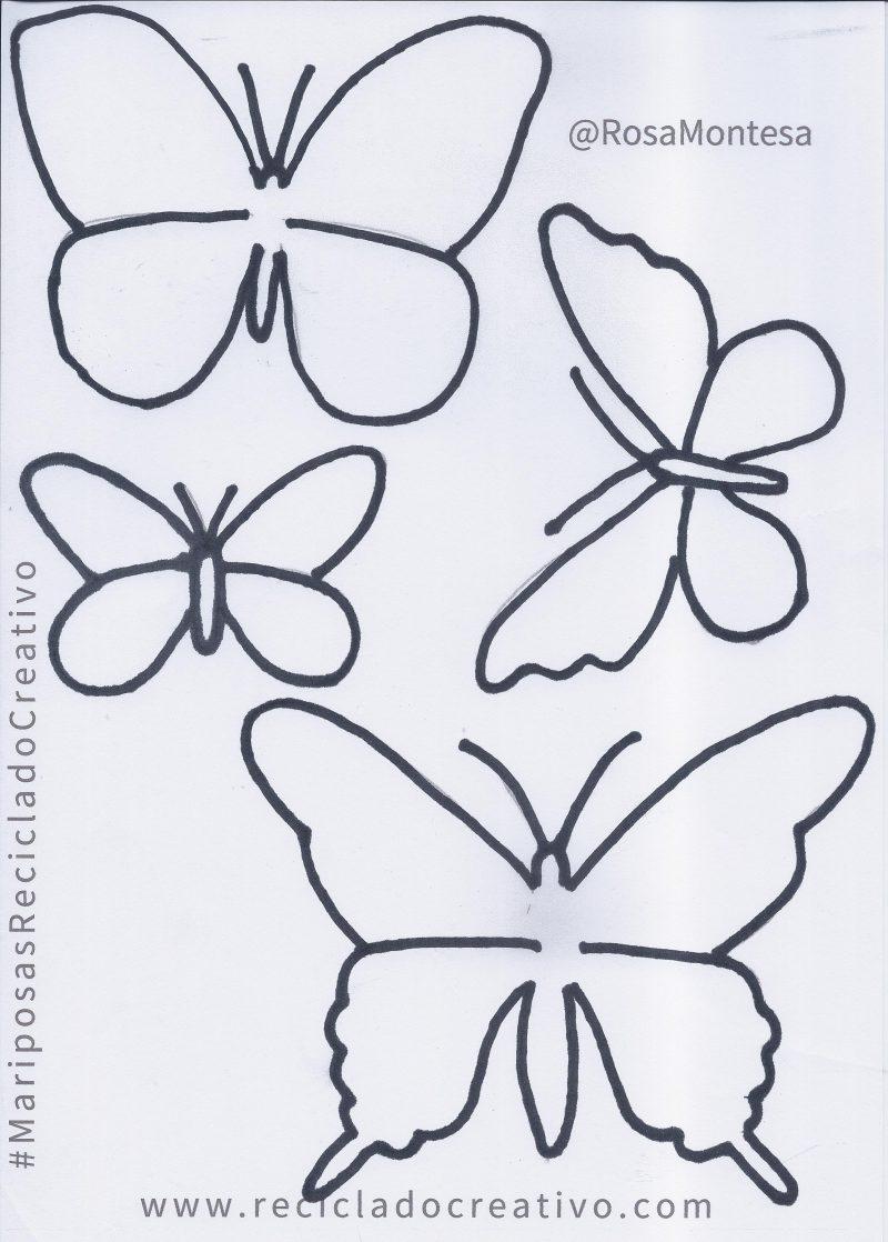 Mariposas_Plantillas_Moldes_RecicladoCreativo