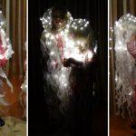 Medusa. Disfraz para niños con plástico reciclado