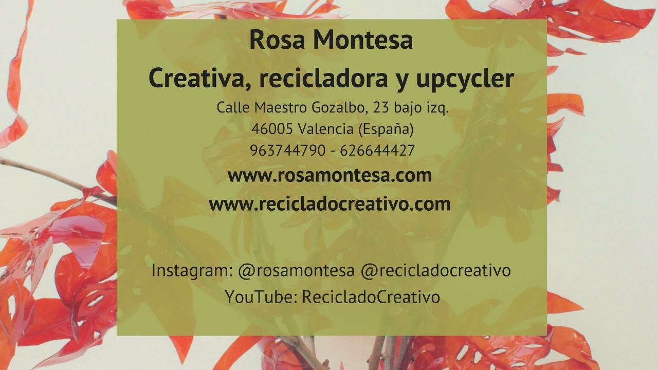 Naturaleza Plástica por Rosa Montesa