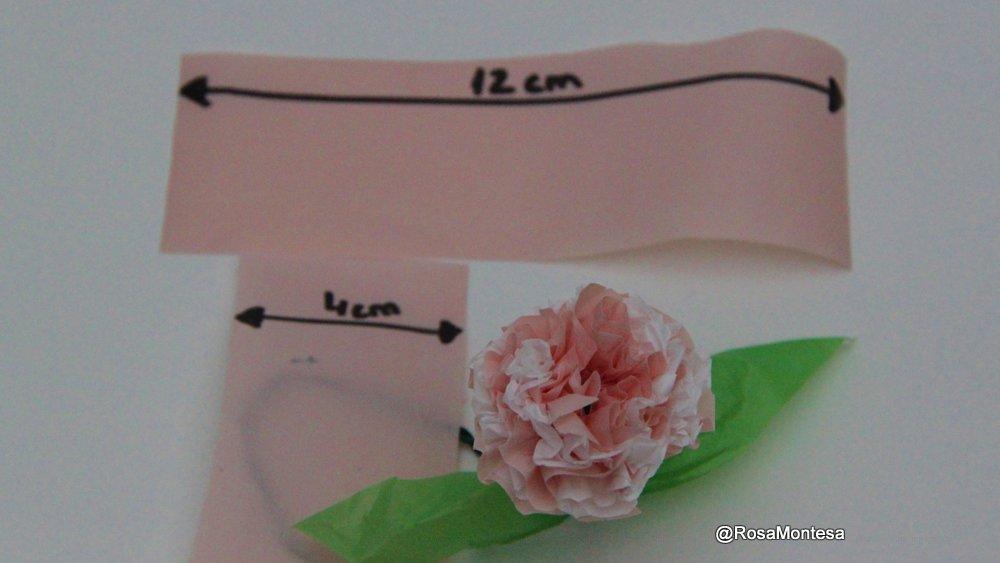 Flores - bolsas plásticas recicladas