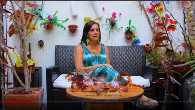 Rosa Montesa - Arte con material reciclado
