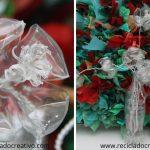 Flores con botellas de CocaCola DIY