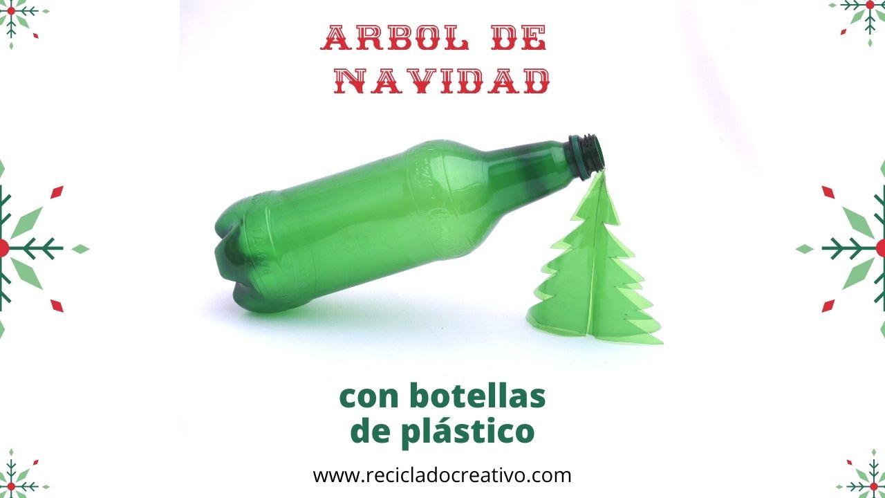 Árbol de Navidad_reciclado_botellas de plástico