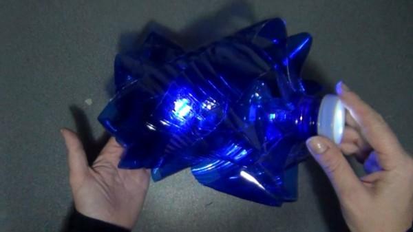 Top 10 reciclado de botellas de plástico de color azul - Top 10 blue recycled plastic bottles. Reciclado Creativo
