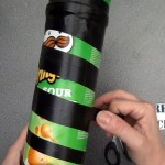 Caleidoscopio hecho reciclando botes de Pringles - Kaleidoscope made out of recycled tubes of Pringles