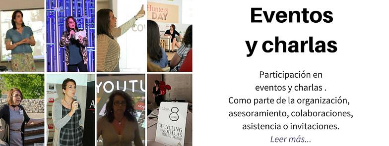 EVENTOS Y CHARLAS DE RECICLADO CREATIVO
