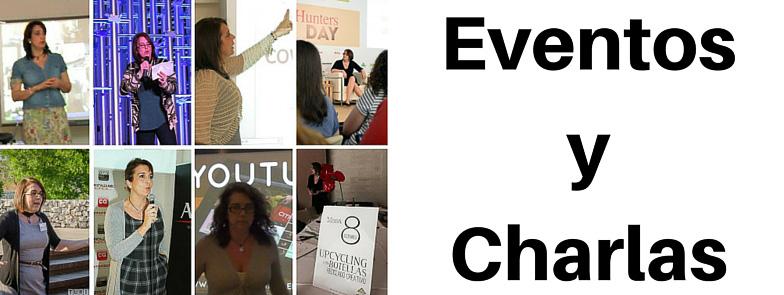 EVENTOS Y CHARLAS DE RECICLAJE CREATIVO