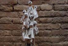 ChupaChups disfrazados de Fantasmas de Halloween