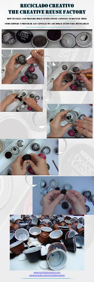 How to prepare Dolce Gusto coffee capsules - Cómo preparar las capsulas de cafe Dolce Gusto
