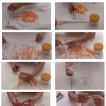 Infografía cómo hacer un contenedor decorativo con una garrafa de plástico y ganchillo con bolsas de plástico