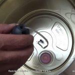 Recycled Tin Can Lamp - Lámpara con bote de metal reciclado - Reciclado Creativo - The Reuse Factory (8)