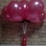 RecicladoCreativo. Recycling with water bottles and balloons. Reciclando con globos y garrafas de agua