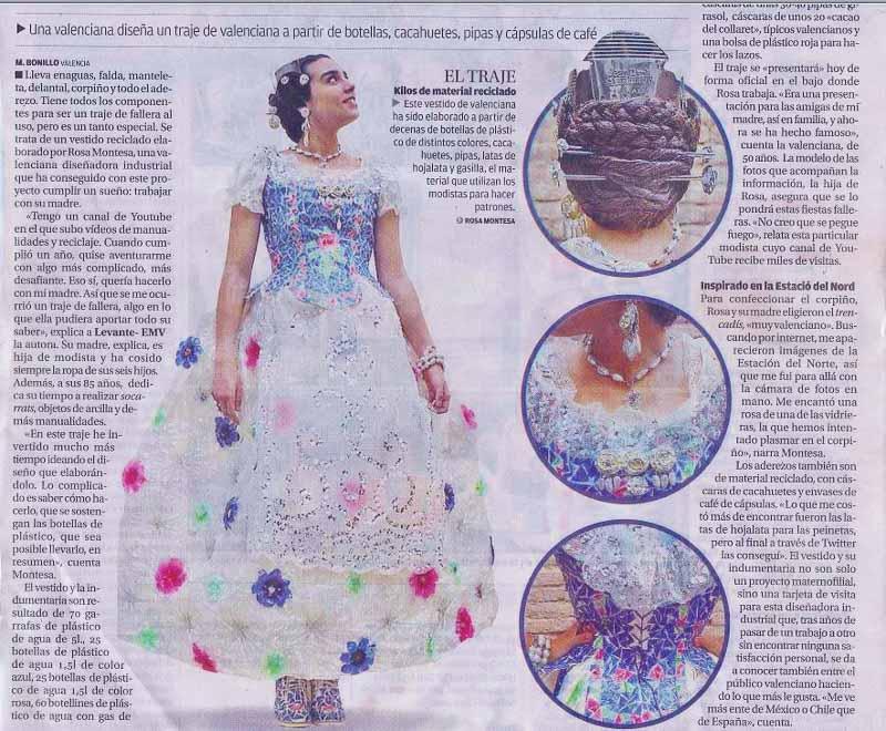 Artículo Levante EMV 03/02/2015 #ecofallera