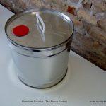 Recycled Tin Can Lamp - Lámpara con bote de metal reciclado - RecicladoCreativo - TheReuseFactory