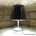 Lámpara realizada con una cafetera italiana- Lamp made out of a Bialetti coffee maker
