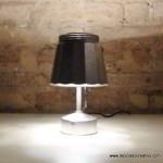 Lámpara realizada con una cafetera italiana- Lamp made out of a Bialetti coffee maker