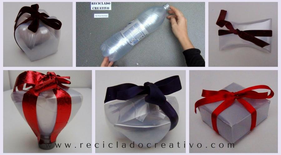 cajas de regalo bomboneras y dulceros realizados con botellas de plstico reciclado reciclaje