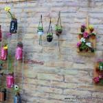 Cápsulas de café recicladas en maceteros decorativos