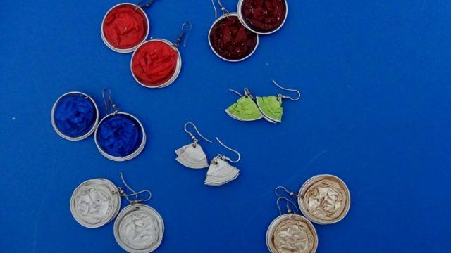 Reciclado Creativo.com Recycled coffee capsules Nespresso.. Cápsulas de cafe Nespresso recicladas