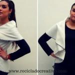Chaleco circular sin coser - Circular Vest no sew