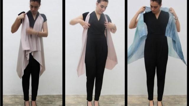 Elegante chaleco sin coser