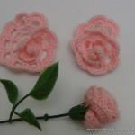 rosas de pitiminí de crochet