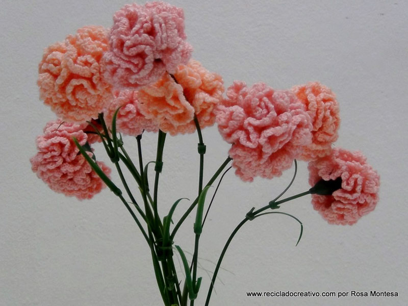 Flores A Crochet. . Para Las Amantes Del Crochet O Ganchillo Hoy ...