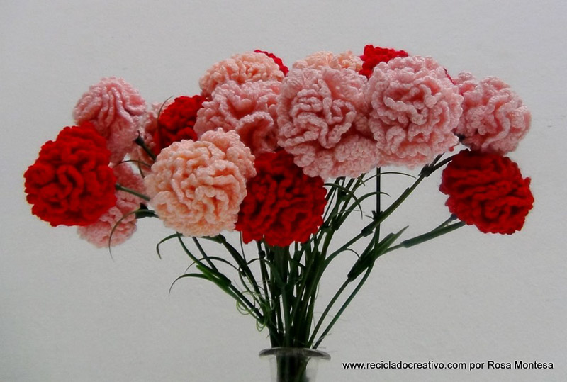 Flores En Crochet. Diagrama U Patrn U Colcha Granny Square U Rosas U ...