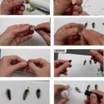 Cómo hacer pendientes y colgantes con pipas de girasol