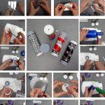 Cómo hacer un caleidoscopio con material reciclado, taller para ninyos