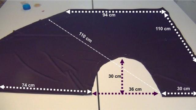 Cómo hacer un vestido sin coser una sola puntada. How to make a dress without sewing