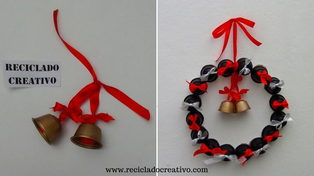 Decoraciones de navidad con cápsulas de café (236)