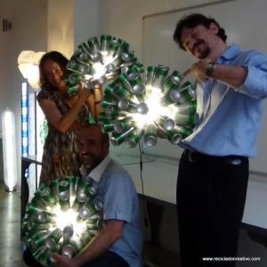 Eventos retos y talleres de Reciclado Creativo
